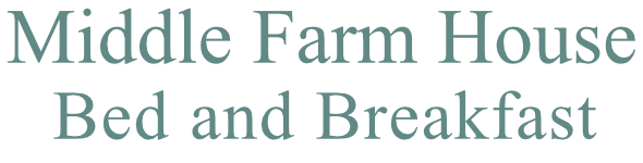 Middle Farm House B and B logo in Steel Teal colour